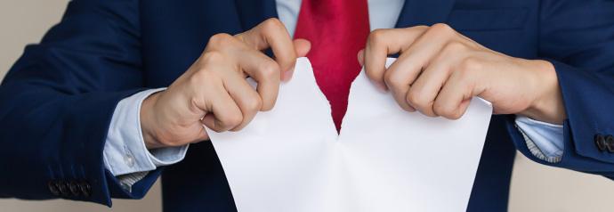 Рассторжение договора долевого участия